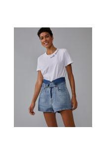 Amaro Feminino T-Shirt Self Love, Branco