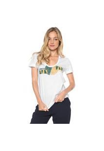 Camiseta Forum Estampada Branca 034.46.01878-0001