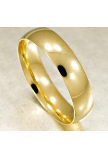 Aliança De Ouro Noivado Ou Casamento Lisa - As0009