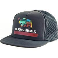 Boné Blanks Co Snap Back California Aba Reta - Masculino eee9ca5e7f63e