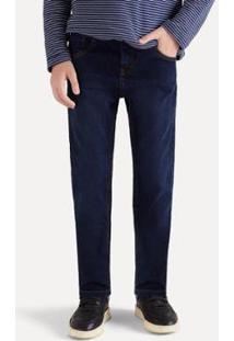 Calça Jeans Infantil Reserva Sm Combate Mini Masculina - Masculino-Azul Escuro