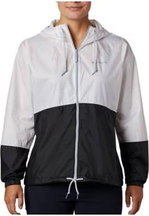 Jaqueta Columbia Flash Forward Windbreaker Twilight Branca Feminina