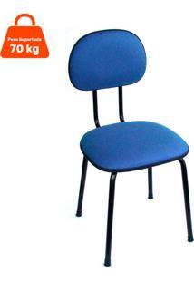Cadeira De Escritório Interlocutor Palito Ii Azul