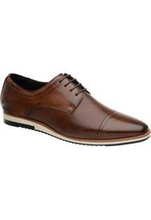 Sapato Masculino Malbork Em Couro Caramelo 24515 - Masculino