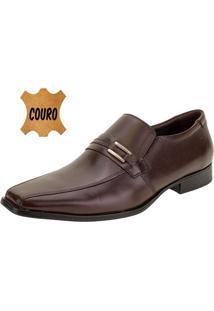 Sapato Masculino Social Democrata - 24410 Café 38