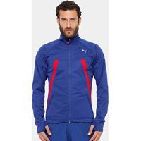 3f6e20c662 Jaqueta Puma Vent Thermo Runner Masculina - Masculino-Azul+Vermelho