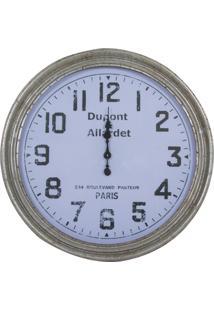 Relógio Decorativo De Parede Dupont