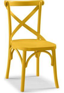 Cadeira De Jantar X Amarela
