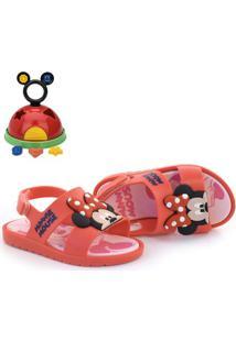Sandália Disney Mickey E Minnie + Brinde