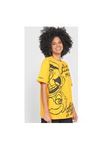 Camiseta Colcci Rio De Janeiro Amarela
