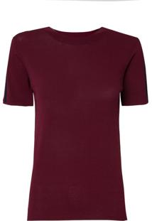 Camiseta Le Lis Blanc Paloma Ii Tricot Vinho Feminina (Petrus, Pp)