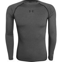 Camiseta Under Armour Long Sleeve Compressão - Masculino cd9339a19a9e1