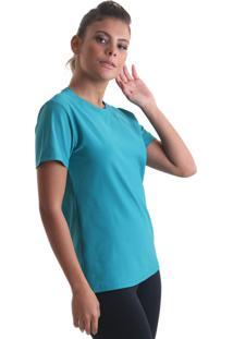 Camiseta Cores Azul Petróleo Praaiah