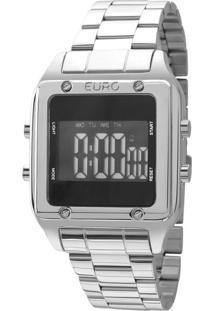 Relógio Feminino Euro Eug2510Ab3P Digital 5Atm