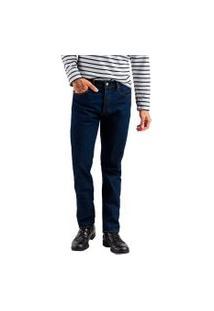 Calça Jeans Levis 501 Original Escuro