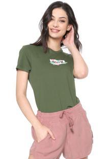 Camiseta Hurley O&O Small Box Verde