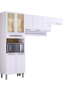 Cozinha Compacta Cacau 8 Pt Branca