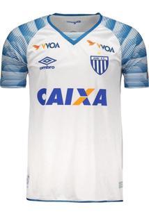 Camisa Avaí Oficial Ii 2017 Umbro Azul/Branco