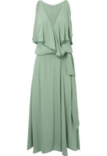 Vestido Mídi Veraneio - Verde