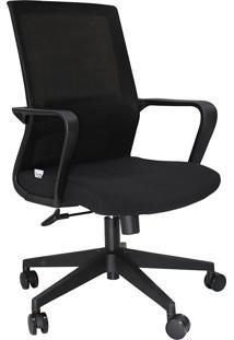 Cadeira Diretor Mko-028-Marka Móveis - Preto
