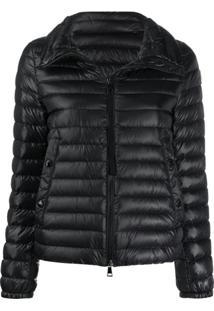Moncler Short Puffer Jacket - Preto