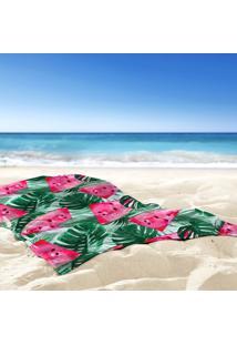 Toalha De Praia / Banho Melancia Tropical