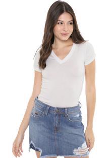 Camiseta Triton Básica Off-White