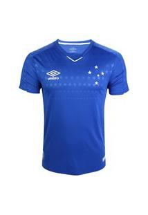 Camisa Umbro Cruzeiro Oficial I 2019 Masculina