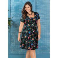 7e56cf570 Vestido Jacquard Plus Size feminino | Shoes4you