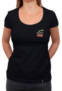 Cereja Foda-Se - Camiseta Clássica Feminina