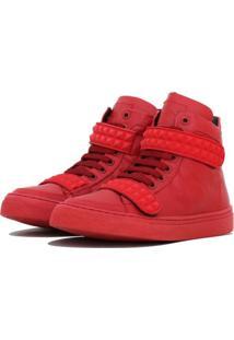 Sneaker K3 Fitness Skull Vermelho - Vermelho - Feminino - Dafiti