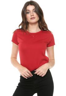 Camiseta Cavalera Ginna Vermelha
