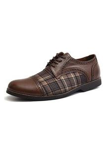 Sapato Social Oxford Shoes Grand 68151/3 Chocolate