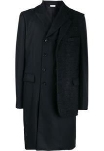 Comme Des Garçons Homme Plus Double-Breasted Coat - Preto