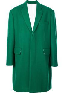 Calvin Klein 205W39Nyc Sobretudo Oversized - Green