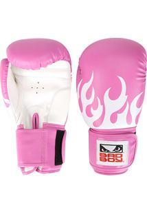 Luva De Boxe/Muay Thai Feminina Treino Bad Boy 10 Oz - Feminino