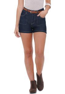 Short Feminino Jeans Marisa