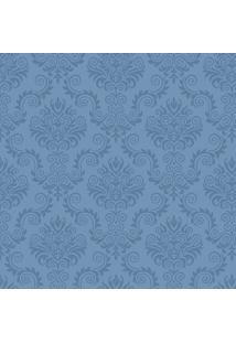 Papel De Parede Arabesco - Azul & Azul Escuro - 300Xjmi Decor