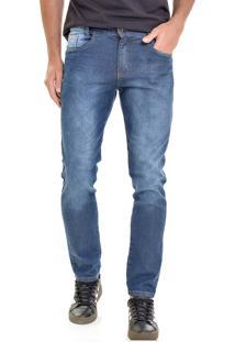 Calça Jeans Lemier Collection Slim Fit Basica