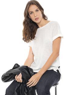 Camiseta Replay Lisa Off-White