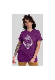 Camiseta Bleed Horizon Roxa