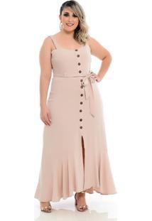 Vestido Yasmin Longo Plus Size