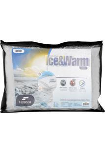 Travesseiro Fibrasca Ice Warm Fibra