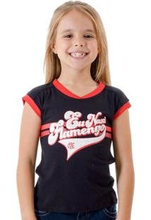 Camiseta Infantil Flamengo Born Feminina - Feminino