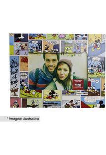 Porta Retrato Mickey Mouse® - Azul & Amarelo - 10X15Zona Criativa