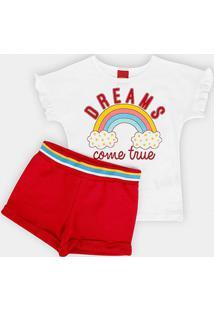 Conjunto Infantil Kyly Dreams Feminino - Feminino
