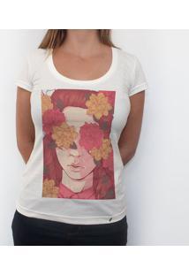 Floral Blindness - Camiseta Clássica Feminina