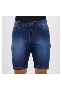 Bermuda Jeans Hang Loose Movick Azul