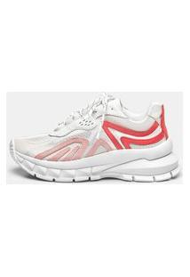 Sneaker Smidt S3 - Branco, Rosa & Tropical