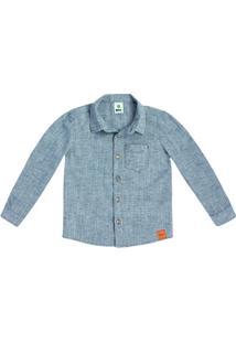 Camisa Infantil Menino Manga Longa